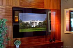 """Naked"" Living Room Mirror TV"