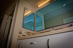 Bathroom Mirror TV, Off