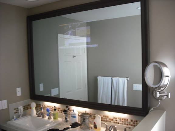 Mirror TV with Lights