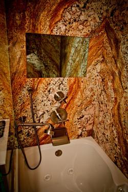 Granite Flush-Mounted Mirror TV, Off