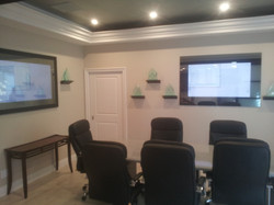 Conference Room with Mirror TV