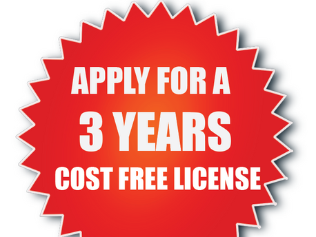 GET FREE MUSIC LICENSE FOR 3 YEARS
