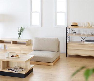 今期発売の新ブランド家具「エンケル enkel」シリーズをご紹介します