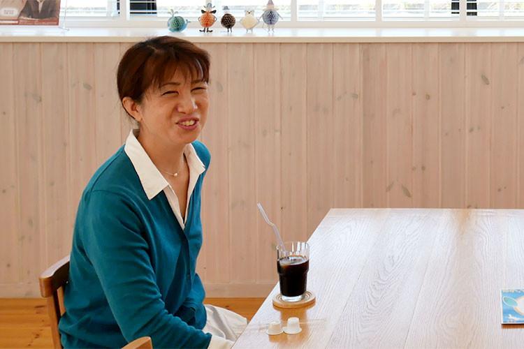 吉田町救援隊代表 槇野洋子さん