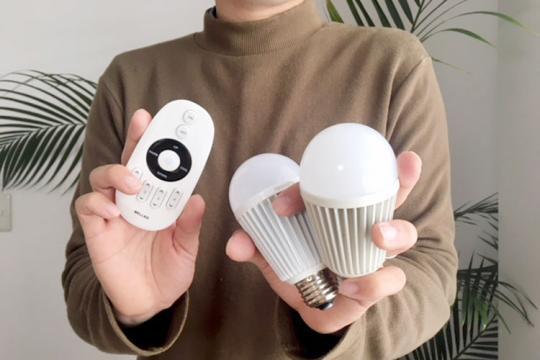 LED電球&リモコン Rシリーズ