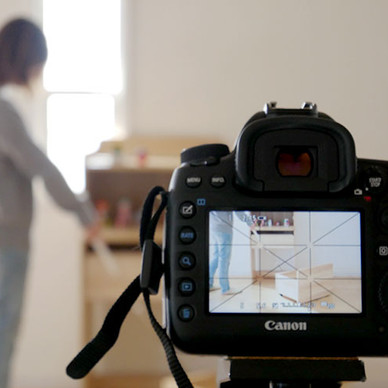 EC事業の舞台裏◆新商品の家具「エンケル キッズ」の撮影現場に潜入してきました