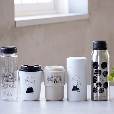 当社オリジナルデザインの雑貨ブランド「fika フィーカ」