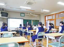 伊予市立港南中学校「働く人に学ぶ会」にて日昇の「仕事」についてお話しました
