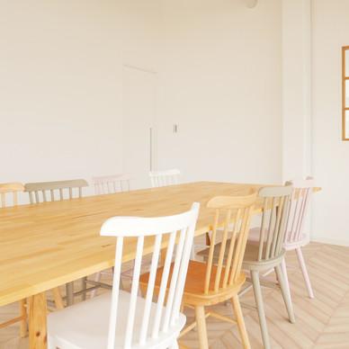 本社の空きスペースを社員の休憩室へリノベーションしました【完成編】