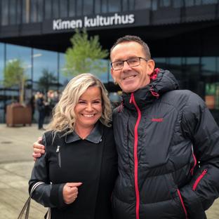 Istedenfor gaver samlet Monica og Agnar inn penger til Stiftelsen i anledning sin 50års dag.