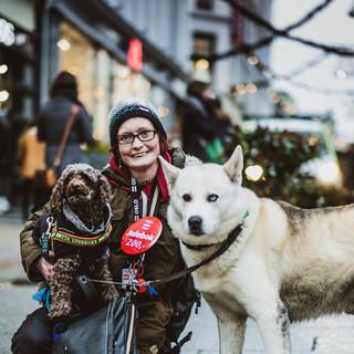 Rikke og hundene sine
