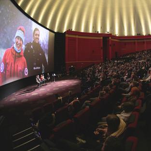 Psykisk helse med Mats Grimseth og røvere i en fullsatt Colosseum Kino