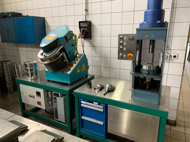 Bench Scale Electrodes Production