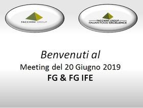 Presentazione nuovo progetto FG I.F.E. ! (Italian Food Excellence)