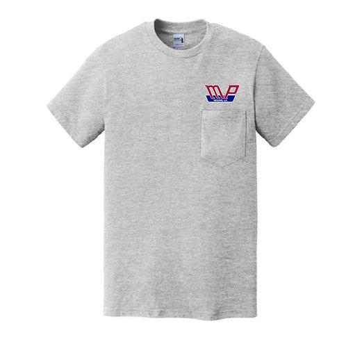MPN Gildan Pocket T-Shirt Grey