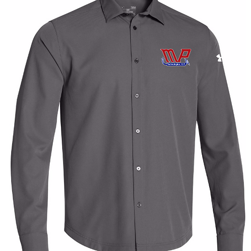Under Armour Adult Ultimate Button Down Longsleeve