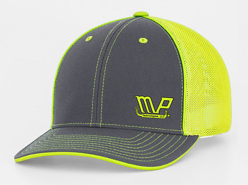 Fitted MPT Cap Graphite/Florescent Green