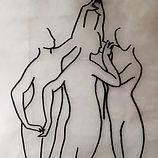 Fragment des 3 soeurs   Fragment der 3 Schwestern