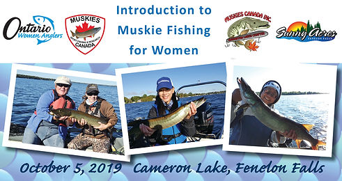 Intro to Muskie Fishing Day 2019 banner.