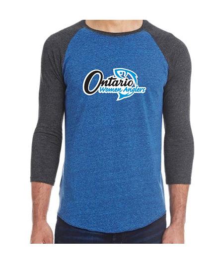 Three-Quarter Sleeve Raglan T-shirt
