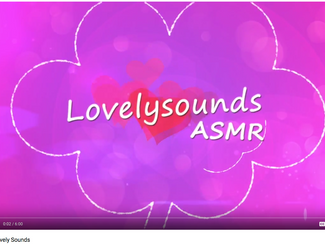 Launch of my own ASMR Channel