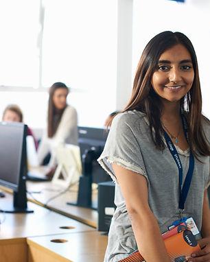Kvinnlig student