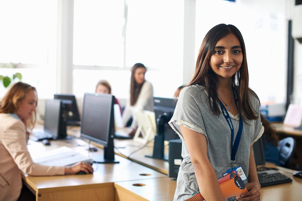 Estudiante femenina