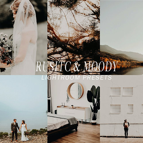 Rustic & Moody Lightroom Preset