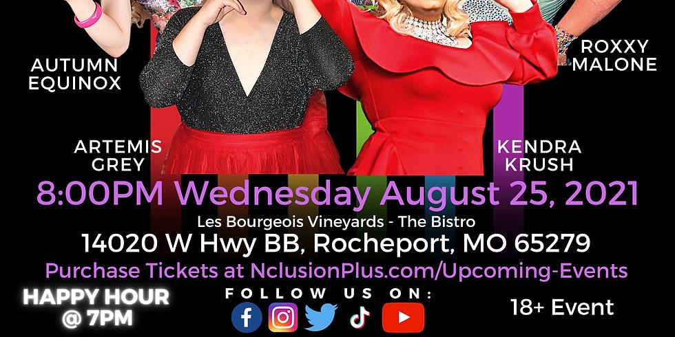 N+ Les Bourgeois: Wine, Dine & Drag