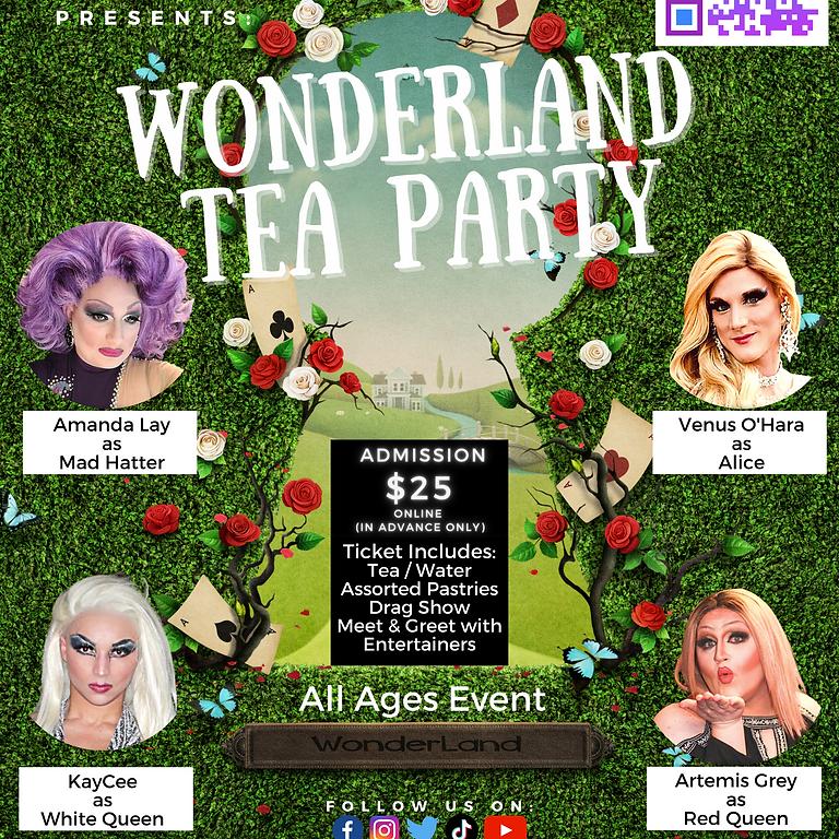 N+ Pride Month Tea Party (Wonderland)