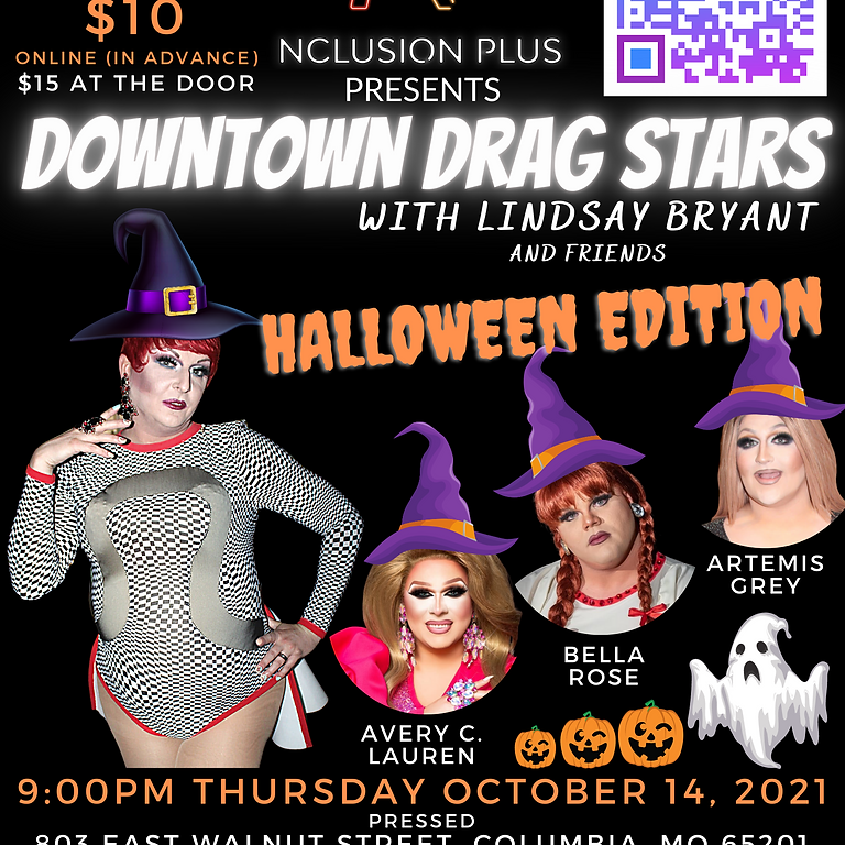 Downtown Drag Stars @ Pressed with Lindsay Bryant