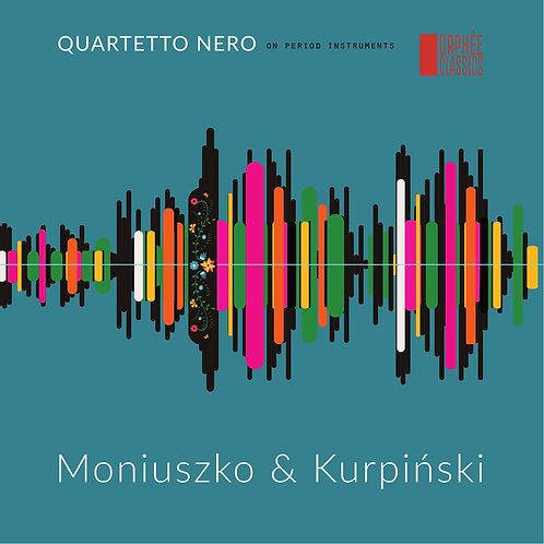 """Płyta """"Moniuszko & Kurpiński"""" Quartetto Nero"""