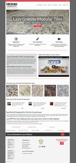Website design - home improvement