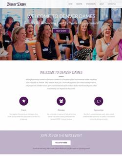 Website design- women's networking