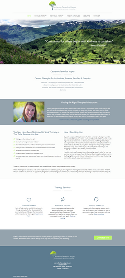 Website design - therapy
