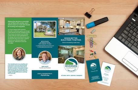 Riverside Brochure & Business card