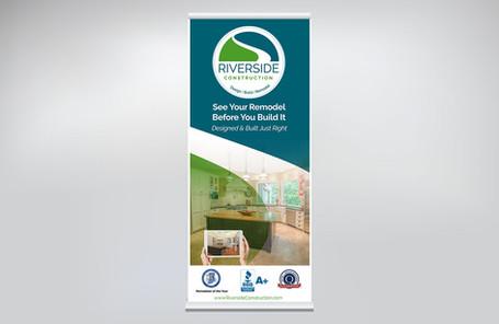 Riverside Pull-Up Banner