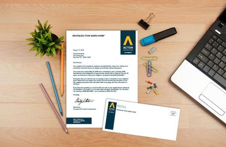 Acton Letterhead &-Envelope