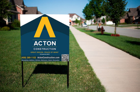 Acton Lawn Sign