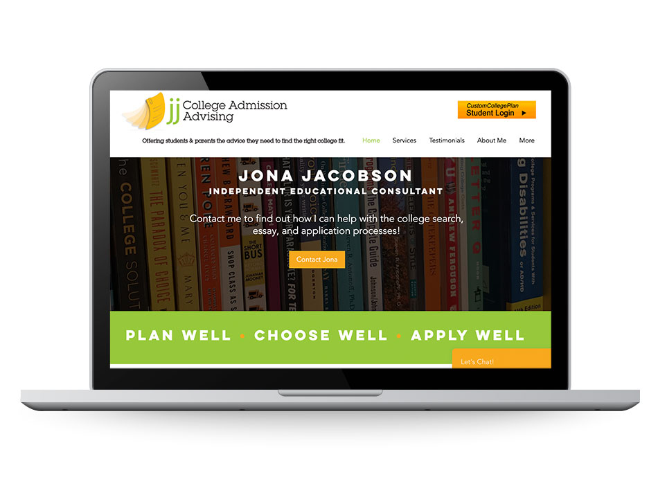 JJ College Admission Advising