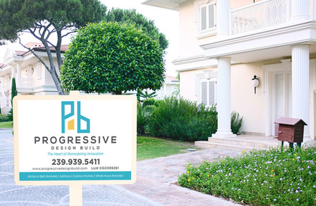 Progressive Lawn Sign