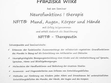 Zusatzqualifikation: NF!T® Therapeutin