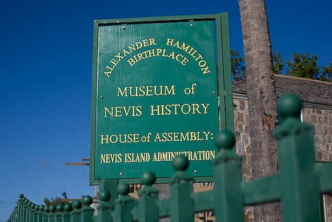 Alexandar Hamilton Birthplace