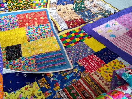 Local Quilters Make 313th Donation to the TCHF (October 2021)