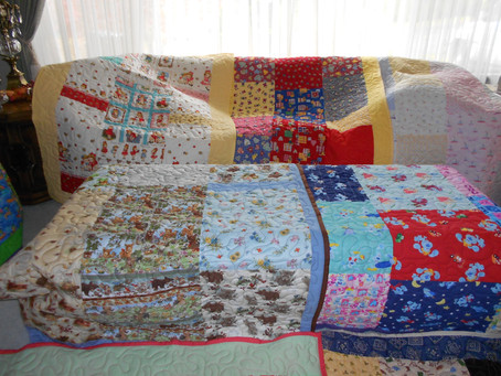 Local Quilters Make 298th Donation (2019)