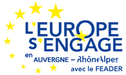 Logo l'Europe s'engage en Auvergne-Rhône-Alpes