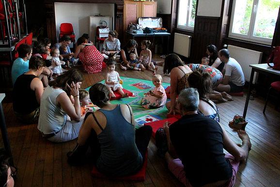 Atelier éveil musical avec l'Ecole de musique du Nord Cantal