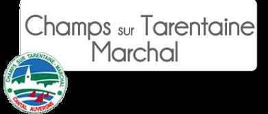 Logo Champs-sur-Tarentaine-marchal