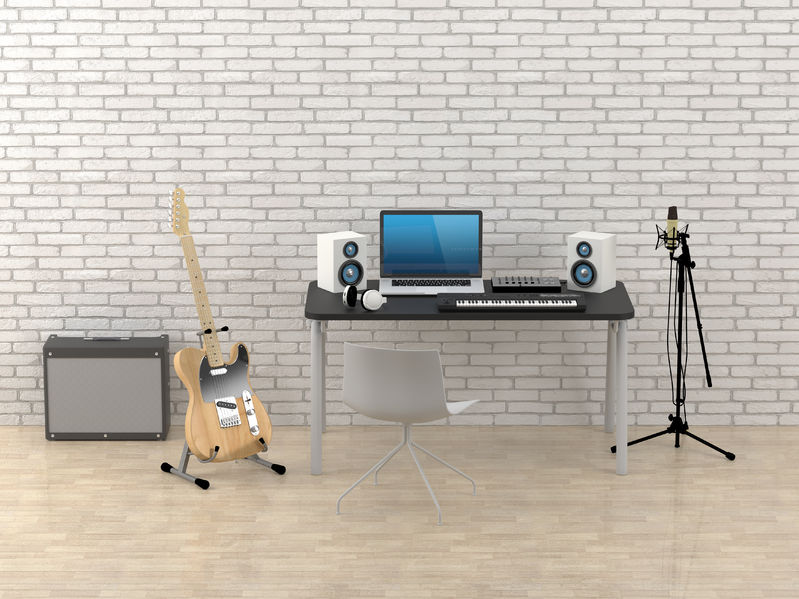 Terrific 5 Home Recording Studio Essentials For Beginners Legendarymix Largest Home Design Picture Inspirations Pitcheantrous