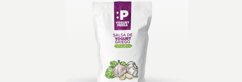 Yogurt Griego Perejil y Ajo